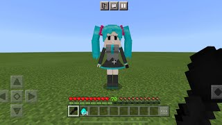 Friday Night Funkin MOD in Minecraft PE (Hatsune Miku Update)