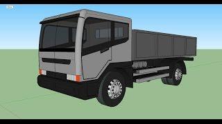 Sketchup - Make a Truck