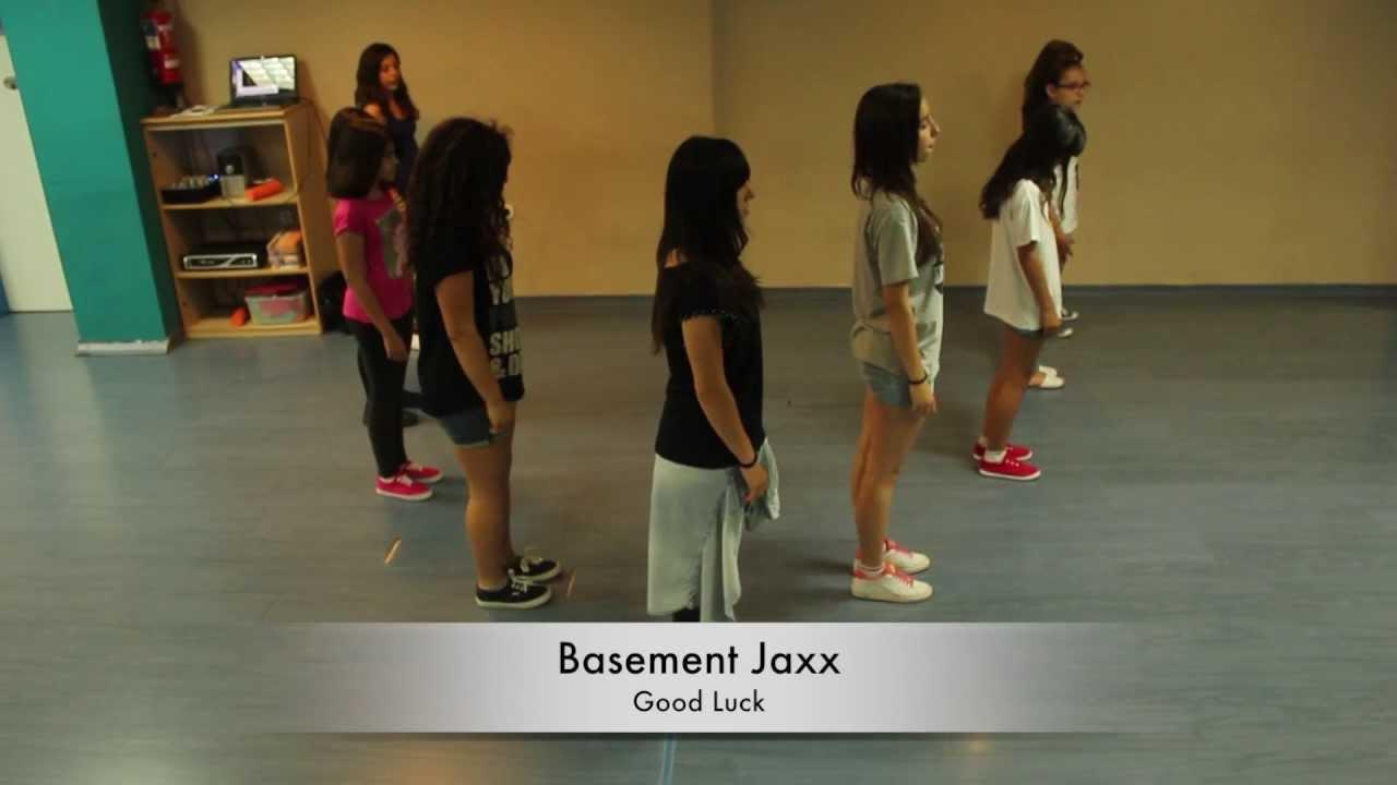 Basement Jaxx Good Luck Cristina Rivas Choreography YouTube - Basement jaxx good luck
