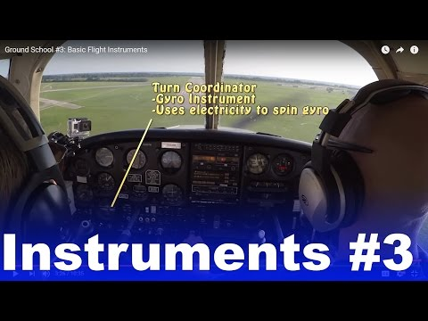 GS #3: Basic Flight Instruments | What they are
