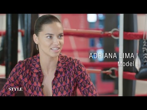 CNN Style Interview Adriana Lima May 08, 2016