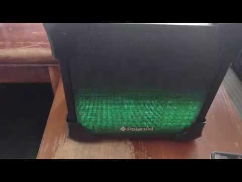 Polaroid Wireless LED Bluetooth Speaker Full Review