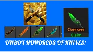 Trying to get the new knifes in Knife XL! (ROBLOX)