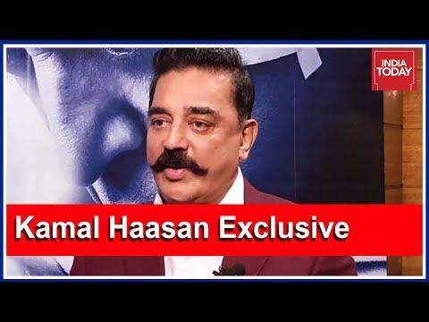 Kamal Haasan Exclusive : Hails Karunanidhi, Denies Competition With Rajinikanth