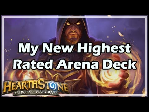 [Hearthstone] My New Highest Rated Arena Deck