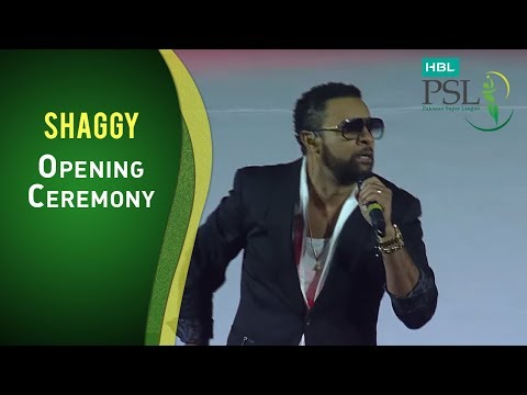 Shaggy Unleashes The Boombastic at the Opening Ceremony!