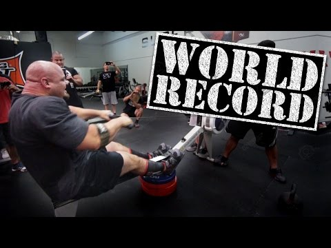 World's Strongest Man Brian Shaw Takes 100M Rowing Record on a Whim