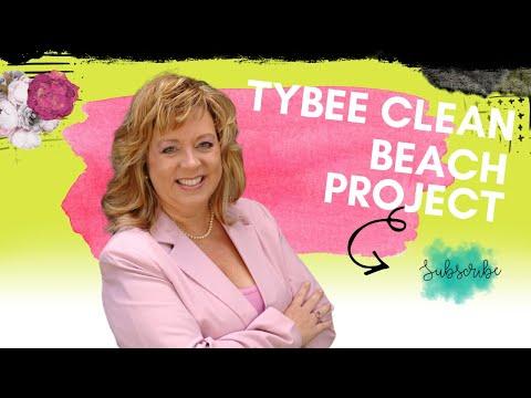 Tybee Island Beach - Beach Clean Up Volunteers