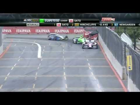 Sao Paulo Indy 2013 - Epic Finish - IZOD IndyCar 2013