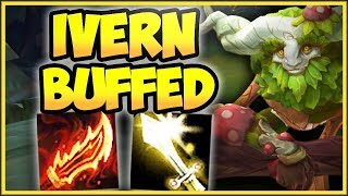 YOU KNOW RIOT WENT TOO FAR WHEN THIS BUILD WORKS.. ON-HIT IVERN TOP GAMEPLAY! - League of Legends