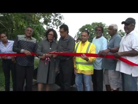 Official Bridge Openings - Toco & Las Lomas #1