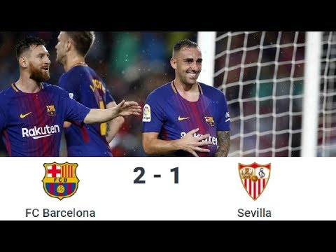 Season 2017/2018. FC Barcelona - Sevilla FC - 2:1