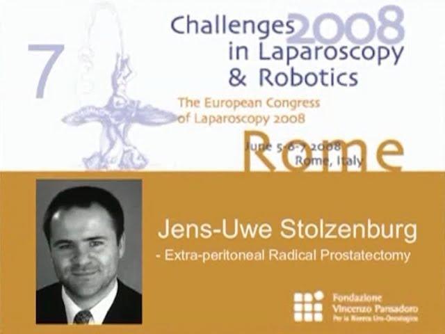 CILR 2008 - Jens-Uwe Stolzemburg - Extra peritoneal radical prostatectomy