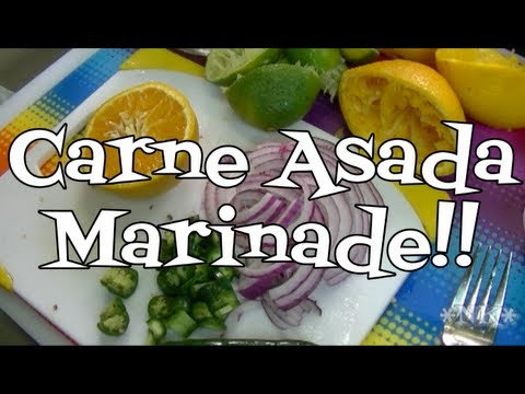 Carne Asada Marinade Recipe!  Noreen's Kitchen