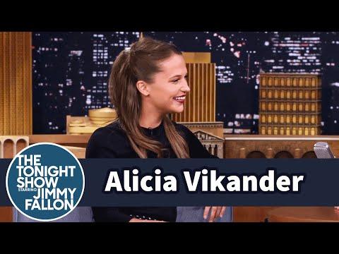 Alicia Vikander on Hacking and Matt Damon's Nice-Guy Reputation