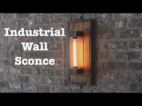 Industrial wall sconces for Escape Brewing // How-To