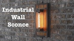 Industrial wall sconces for Escape Brewing   How-To