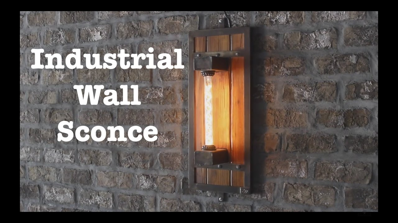 industrial wall sconces for