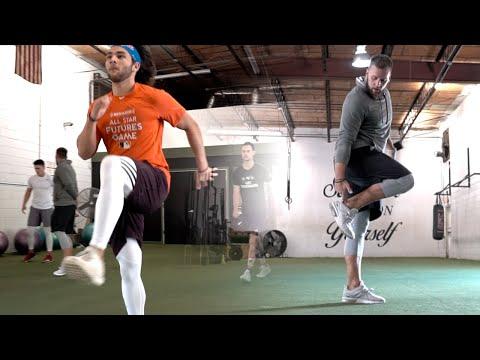 Max Velocity Mechanics Training Session   Overtime Athletes