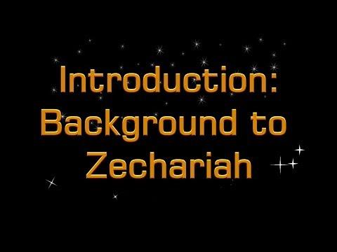 Zechariah Study Part 1, Introduction and Background Psalm 137 Mr John Martin Christadelphians
