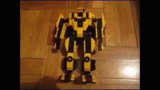 Как сделать трансформера из лего - видеоинструкция