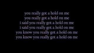 you really got a hold on me by smokey robinson the miracles lyrics