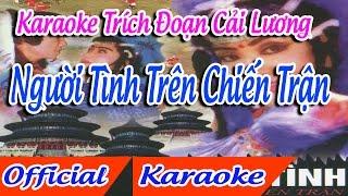 Trích Đoạn Người Tình Trên Chiến Trận karaoke | tân cổ trích đoạn Karaoke Beat