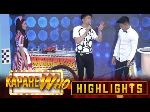 Jackque Gonzaga and Ion Perez try to sell their Filipino desserts | It's Showtime KapareWho