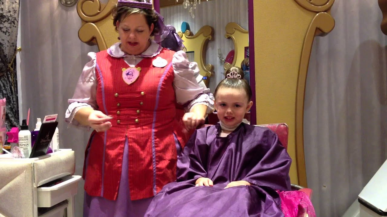 Disney world bibbidi bobbidi boutique 2012 2 of 2 youtube for World boutique