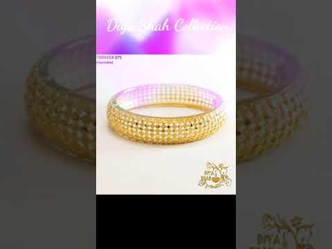 Gold Bangles Sets✨ Stylish Bangles Designs ✨ Cute Bangles✨ Gold Bangles ✨ Diya Shah Bangles