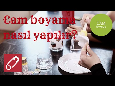 Dekoratif Cam Boyama Nasil Yapilir 10marifet Youtube