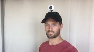 Gear 360 DIY Hat Mount Demo (Part I)