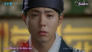 [Vietsub + kara] Moonlight Drawn by Clouds - Gummy (Love In The Moonlight OST Part 3)