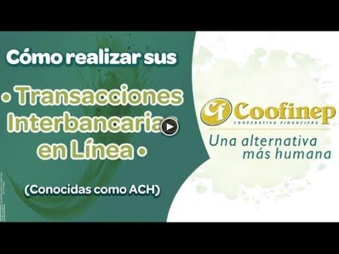 Transacciones interbancarias desde COOFINEP