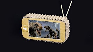 How to Make TV from Cardboard - paper crafts for kids - best out of waste