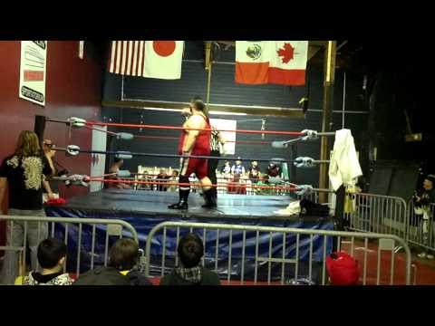 Marc Krieger vs Superbeast Pier 6 Wrestling 4292012