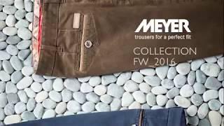 видео Мужские брюки Meyer/Мейер купить в Москве - коллеция 2014 года на сайте производителя.