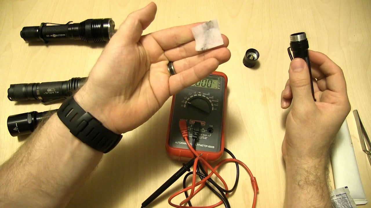 Going Gear Ep 2 How To Repair And Maintain A Flashlight Youtube Simple Highpower Led Driver Circuit Light Circuitedited