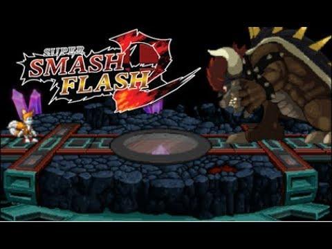 Super Smash Flash 2 Giga Bowser
