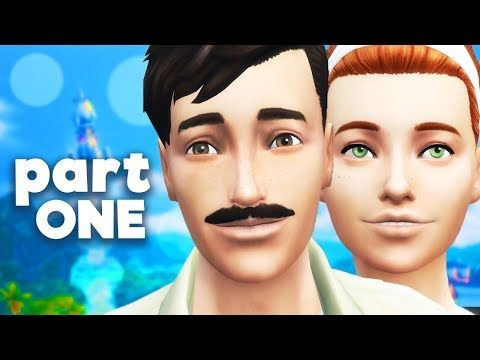 Let's Play The Sims 4 | Part ONE | Welcome Wagon!