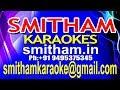 Kadavathoru Thoni karaoke || Poomaram karaoke