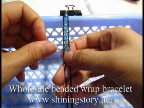 How To Make Chan Luu Beaded Leather Wrap Bracelets Best Friend Diy Guide