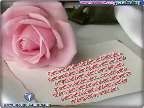 Frases Con Flores De Rosas Para Amor Youtube