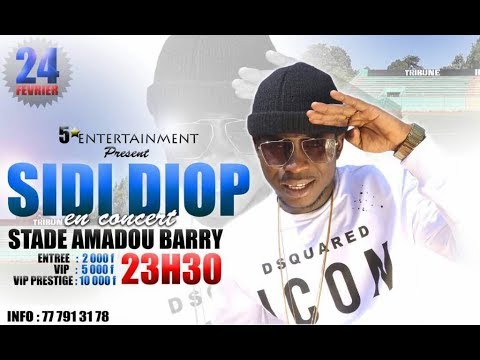 DIRECT CONCERT SIDY DIOP STADE AMADOU BARRY