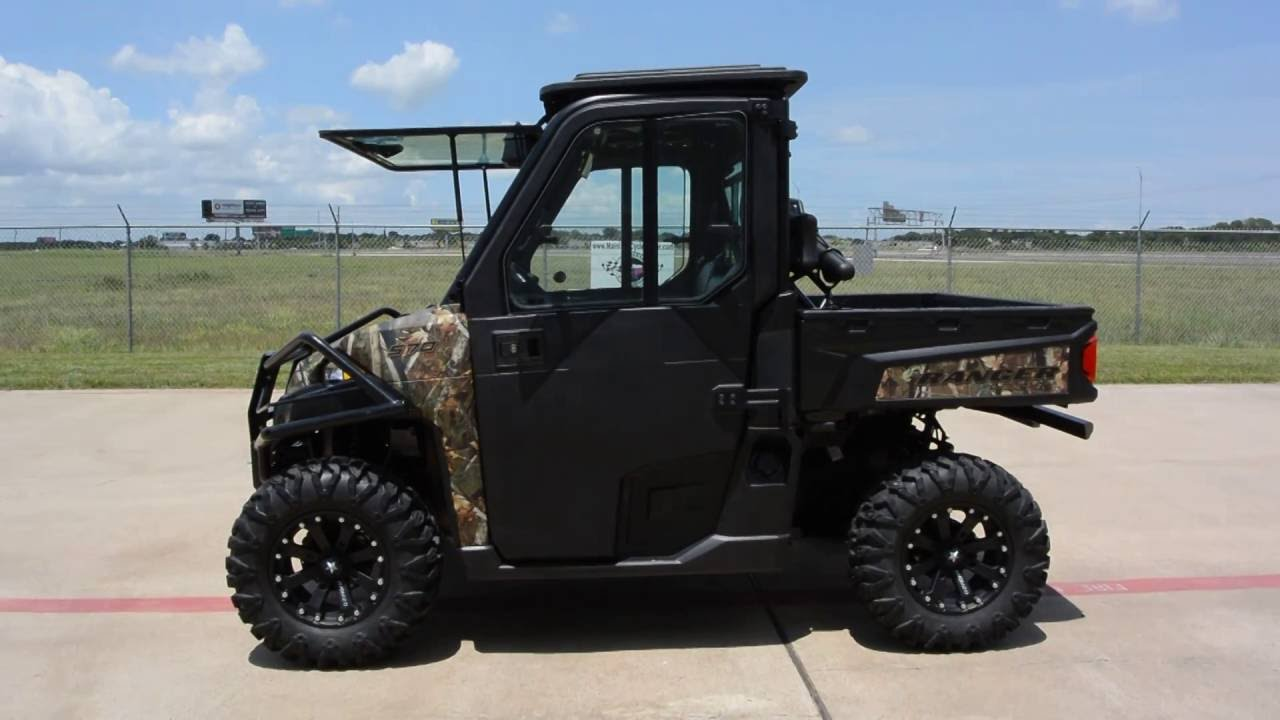 for sale 13 999 2015 polaris ranger 570 camo loaded with. Black Bedroom Furniture Sets. Home Design Ideas