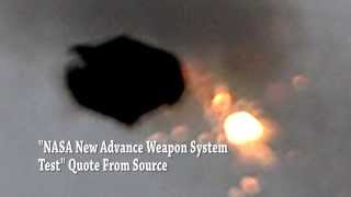 WHOA!! Exploding UFO! Nasa Shoots Down UFO!!? 5/11/2015 Share This!!