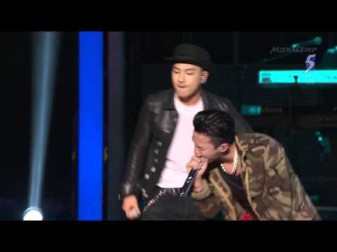 GD & Taeyang - Good Boy - BIGBANG . Singapore SG50 Countdown - Rainice