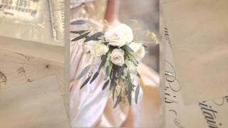 Свадебная ручка с подставкой Gilliann Crystal Vignette PEN019