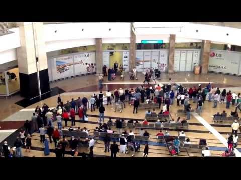Johannesburg international Airport arrivals