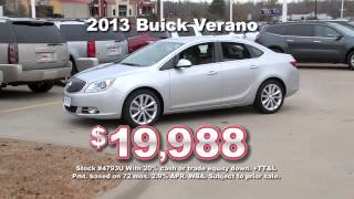 Hall Buick GMC Cutting Prices on Certified Pre-Owned Like this Buick Verano